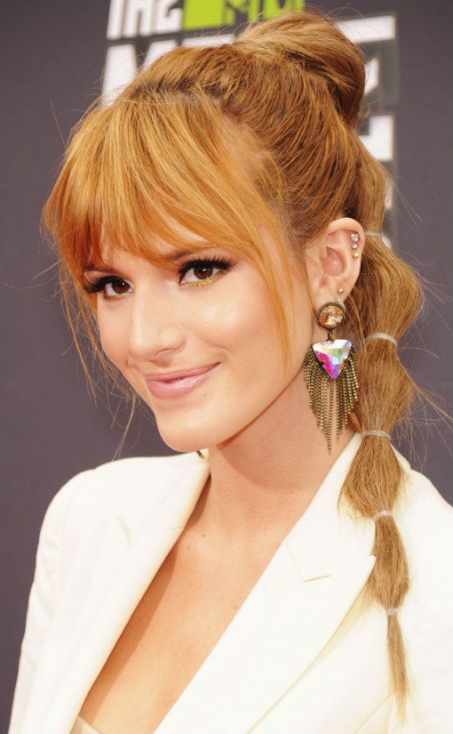 Sectioned Ponytail - New Trend to Try - fashionsy.c