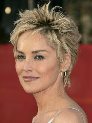 12 Impressive Sharon Stone Short Hairstyles - Pretty Desig