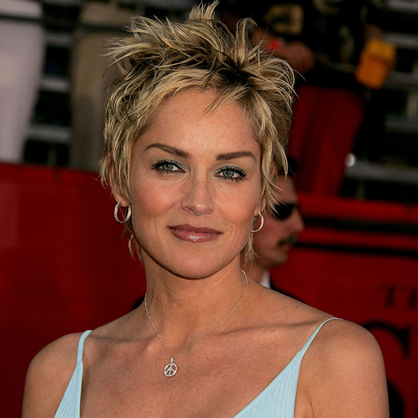 Sharon Stone Short Hair Styles with Photos - Design Pre
