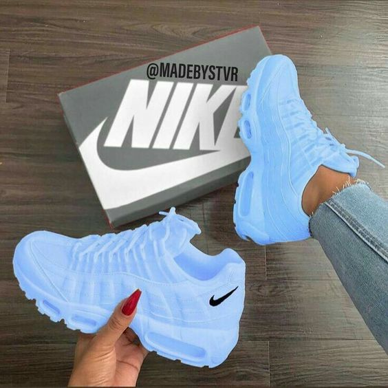 39 Casual Shoes Every Girl Should Have | Nike shoes blue, White .