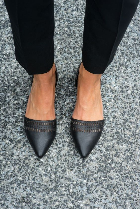 56 Leather Shoes Every Girl Should Have | Fashion shoes, Cute .