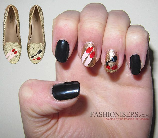 Chiara Ferragni Shoes Inspired Nail Art Designs | Chiara ferrag