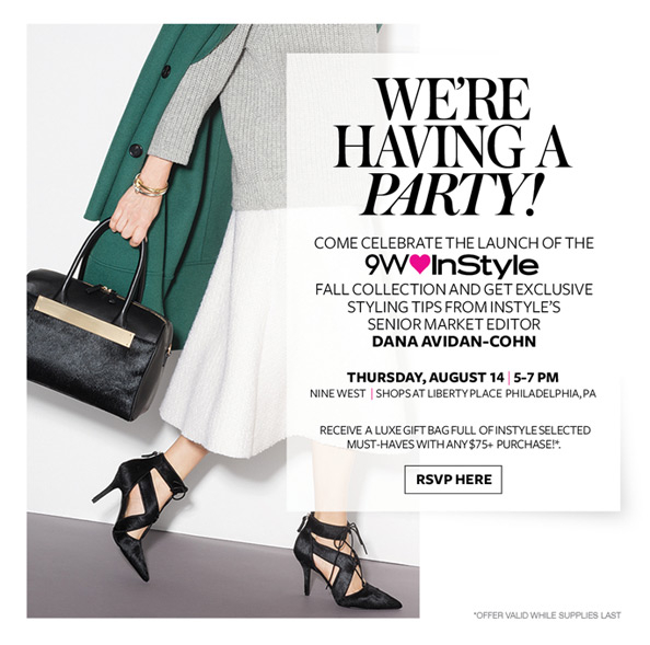 Celebrate InStyle and Nine West's Collaboration! | InStyle.c