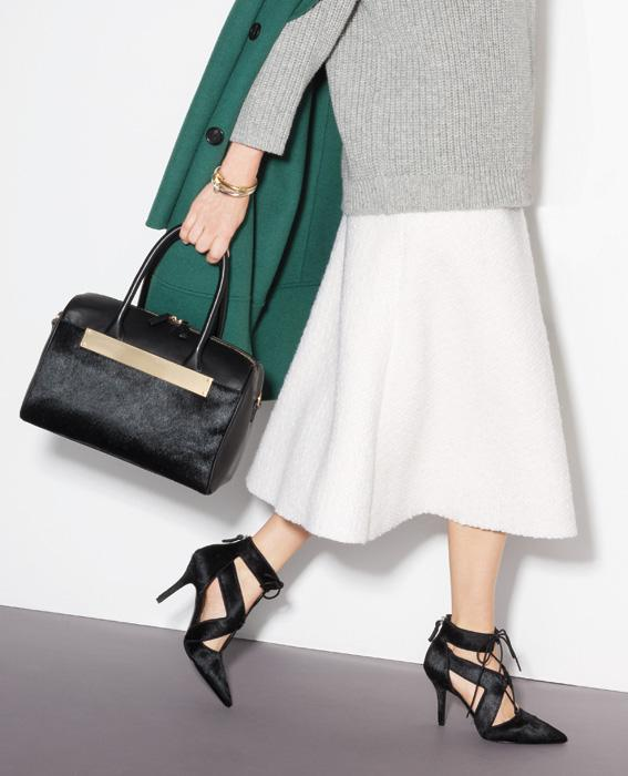 InStyle and Nine West's Fall 2014 Shoe and Accessories .