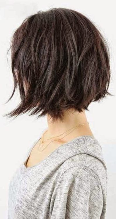 37 Short Choppy Layered Haircuts - Messy Bob Hairstyles Trends for .