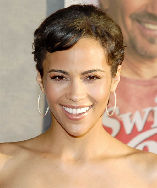 Paula Patton Long Straight Up
