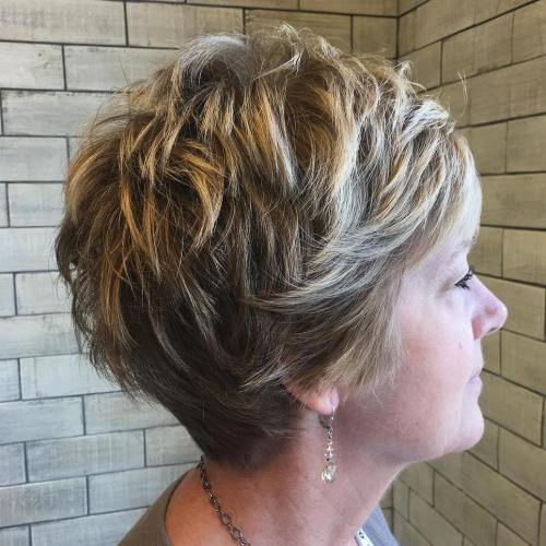 90 Classy and Simple Short Hairstyles for Women over