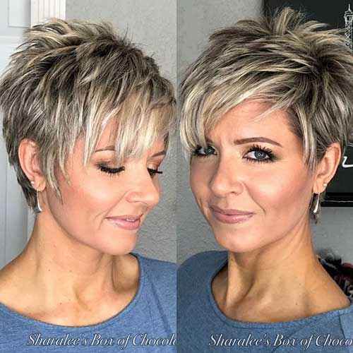 30 Best Short Hairstyles for Women Over 50 | Short-Haircut.c