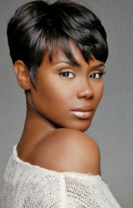 10 Short Hairstyles For Women Over 50 | Short black haircuts .