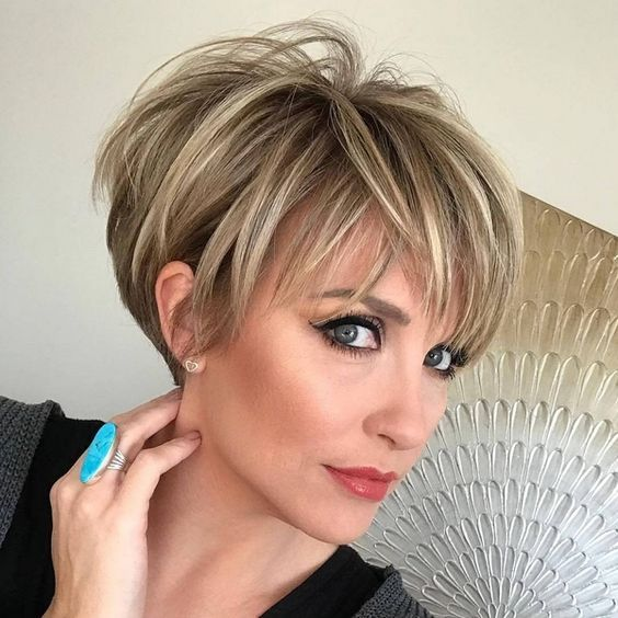 Short Hairstyles : 20 Cool Short Haircuts and Hairstyles for Thick .