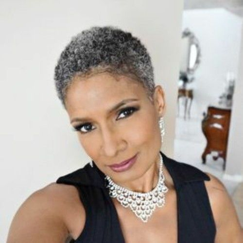 Shiny 58 Short Hairstyles for Black Women over 50 | Colored hair .