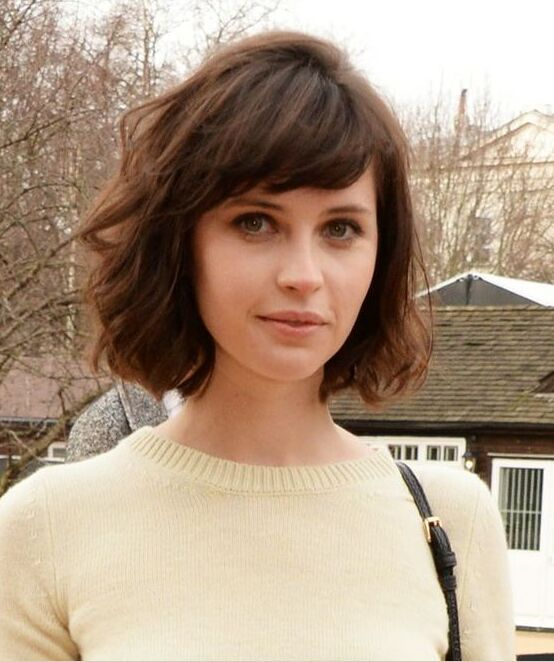 35 Short Hairstyles with Bangs For Women - Hottest Haircu