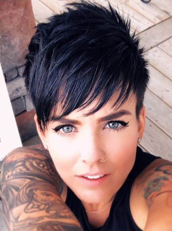 Incredible Short Pixie Hairstyles For Girls 2018 | Absurd Styl