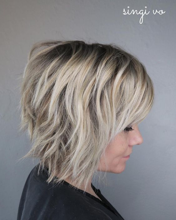 10 Short Shag Hairstyles for Women 20