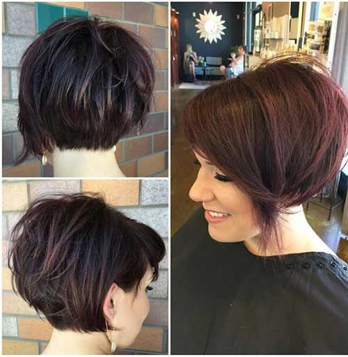 Popular Short Stacked Haircuts You will Love | Kapsels, Korte .