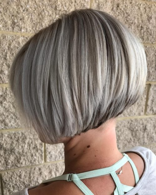 27 Cute Stacked Bob Haircuts Trending in 20