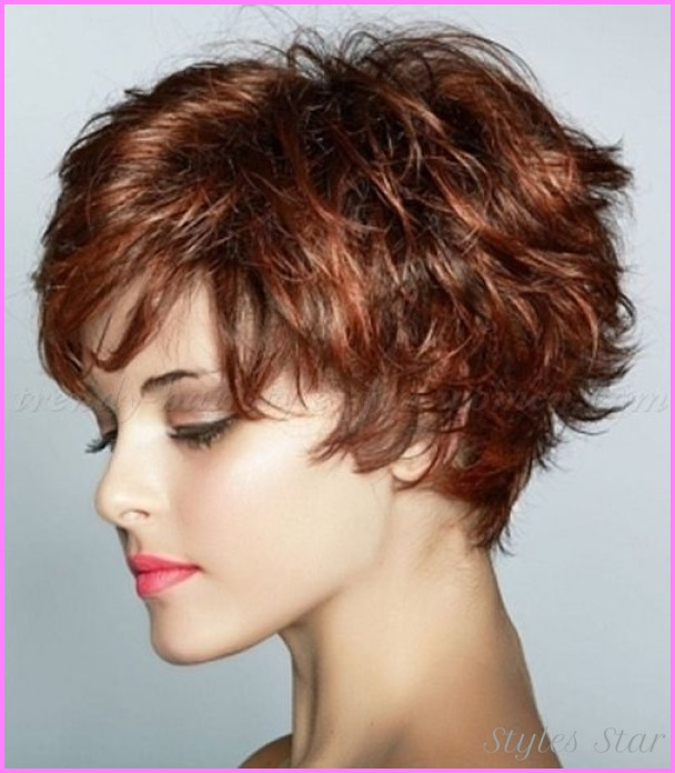 Short Wavy Hairstyles For Older Women - Star Styles | StylesStar.Com