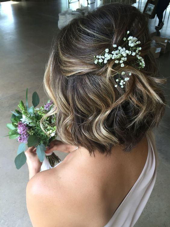 Short Wedding Hairstyles for Women