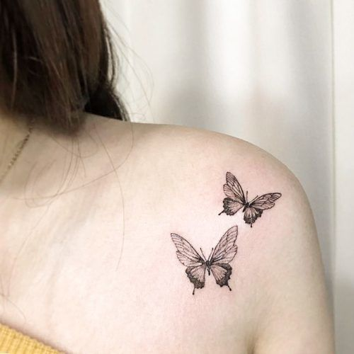 Beautiful And Meaningful Butterfly Tattoo Guide | Butterfly tattoo .