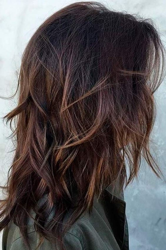 21+ Cute Shoulder Length Layered Haircuts for 2018 – 2019 - Hairstyl