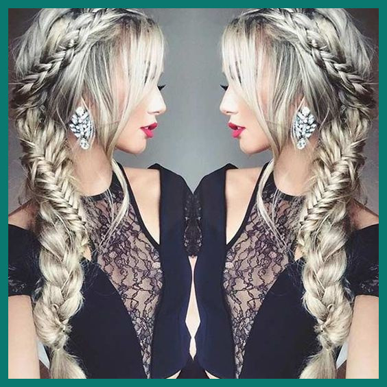 Side Prom Hairstyles 411571 Pretty Side Swept Braid Hairstyle Prom .