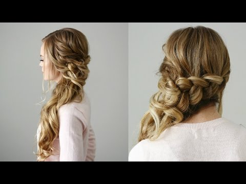 Side Swept Dutch Braid | Missy Sue - YouTu