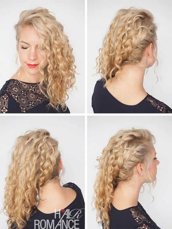 30 Curly Hairstyles in 30 Days - Day 10 | Curly hair styles, Hair .