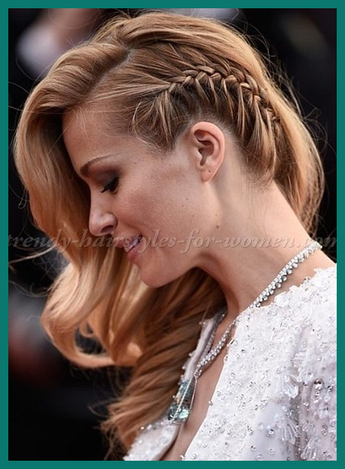 Side Swept Hairstyles 122264 Side Swept Hairstyle with Side Braid .