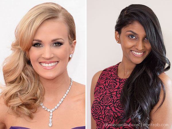 How to Create Carrie Underwood's Side-Swept Hairstyle - Mo