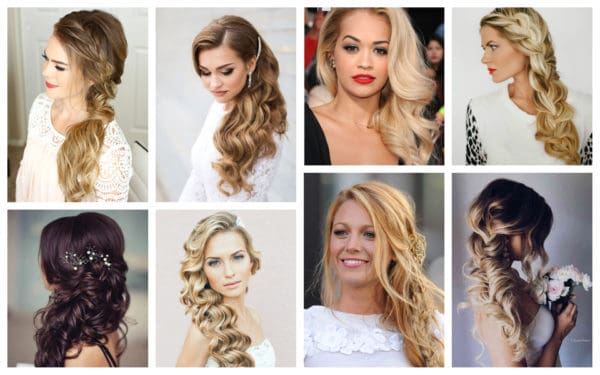 Romantic Side-Swept Hairstyles That Will Put All Eyes On Y