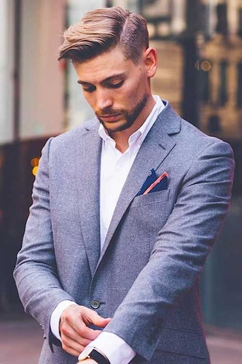 80 Cool Enough Side Swept Hairstyle For Men | Classy hairstyles .