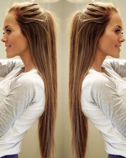 Simple and Easy Hairstyles for Straight   Hair