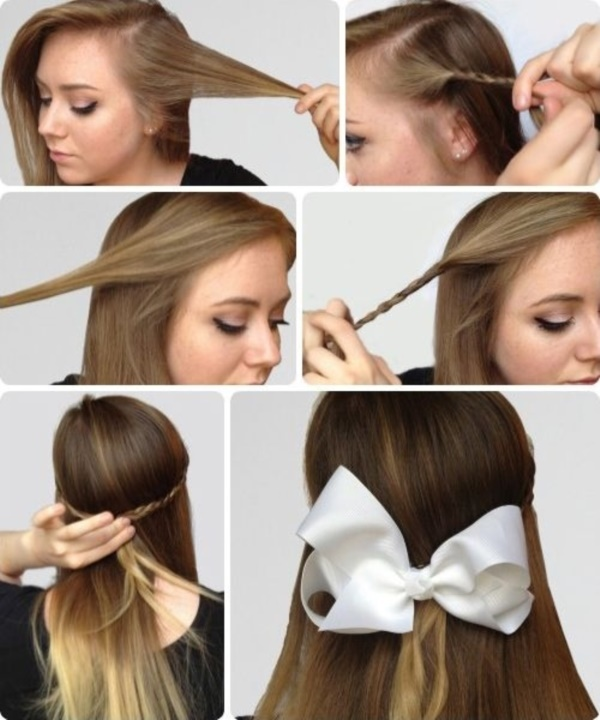 101 Easy DIY Hairstyles for Medium and Long Hair to snatch attenti