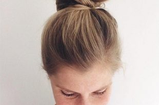 15 Simple Easy But Stylish Top Knots for Summ