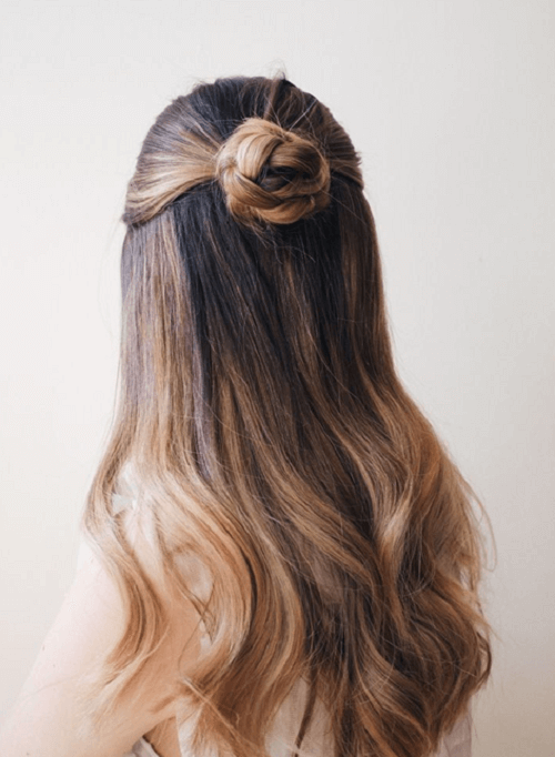 Hairstyles Bun Ideas, Simple and Easy - Hairstyle Magazi