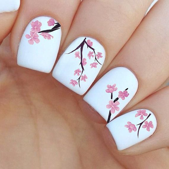 Top 100 Nail Art Ideas That You Will Love | Spring nail art .