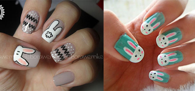 Easy Easter Bunny Nail Art Designs & Ideas 2014 For Beginners .