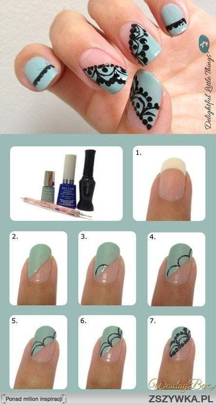 20 Easy And Wonderful Nail Art Tutoria