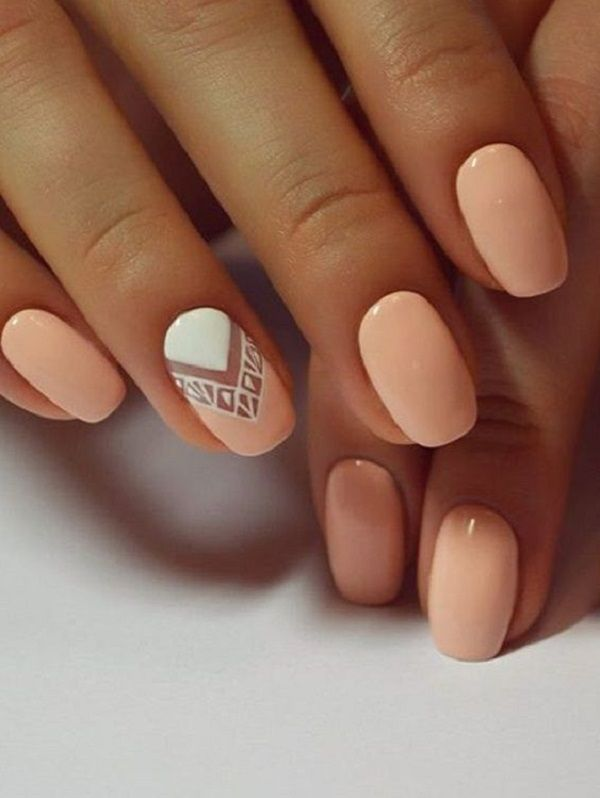 38 Simple Summer Nails Art Designs Easy For Beginners 2019 | Nails .