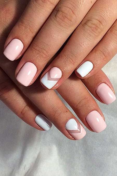 Amazing summer nail designs for 2018-2019 | Pink nails, Simple .