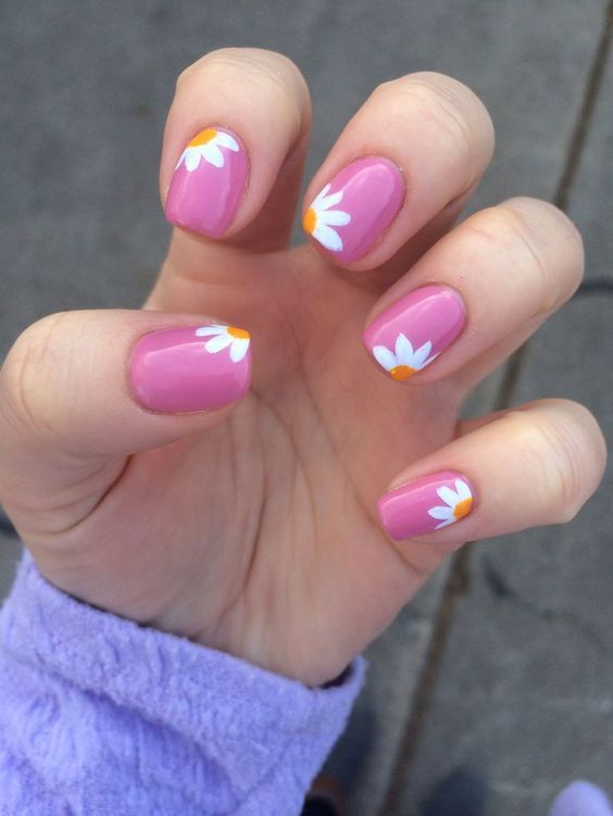 Simple Nails for Summer Nail Designs