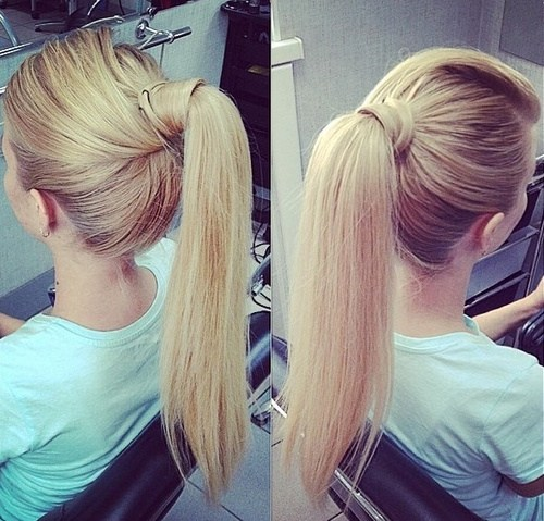 20 Everyday Ponytail Hairstyles - Simple Easy Ponytails 2020 .