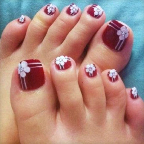 24+ Nail Designs For Toes Pictures - NailsP
