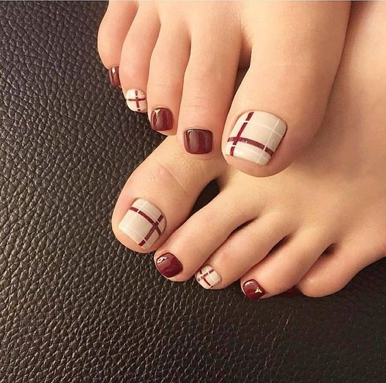 27 Adorable Easy Toe Nail Designs 2020 – Simple Toenail Art .