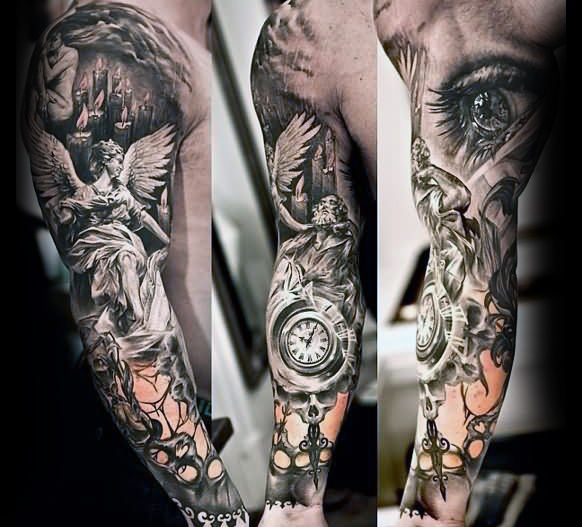 Top 67 Unique Sleeve Tattoo Ideas [2020 Inspiration Guid