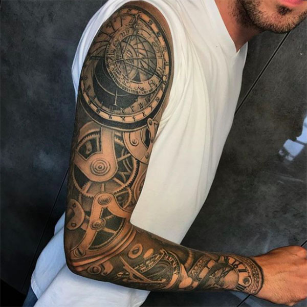 25 Coolest Sleeve Tattoos for Men in 2020 - The Trend Spott