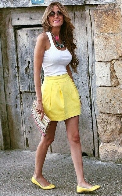 25 Spring Outfit Ideas with Flats | Outfits, Schattige outfits .
