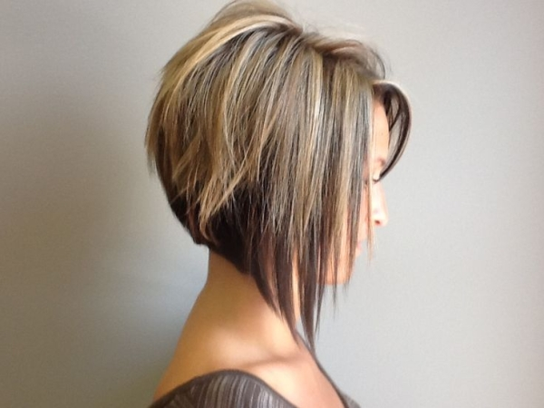 Stacked A-line Bob Haircuts