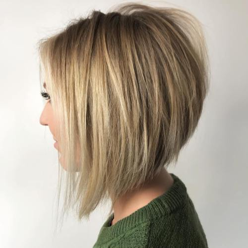 61 Charming Stacked Bob Hairstyles That Will Brighten Your D