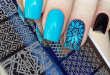 Summer Stamping Nail Art Designs for 2018 | BeautyBigBa